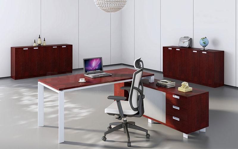 电脑桌-办公桌图片-定制板式办公桌-办公家具-办公家具厂