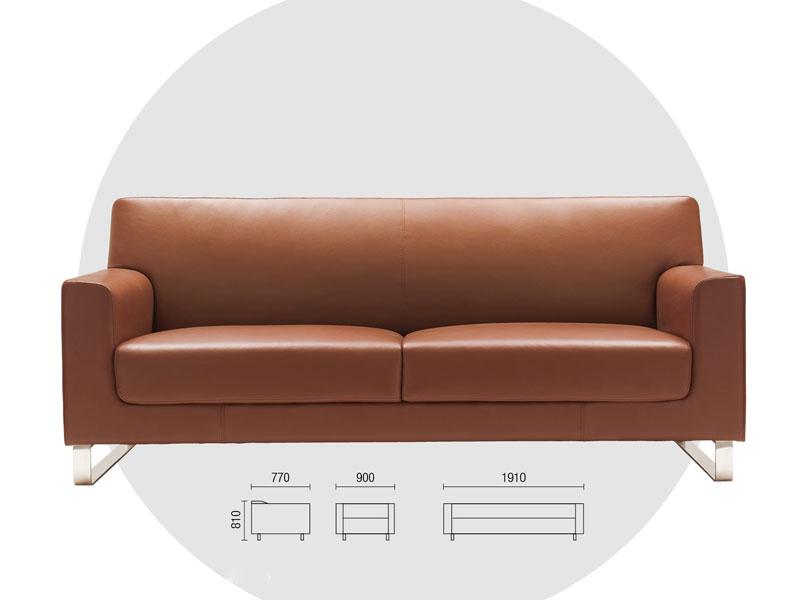 办公沙发-商务沙发尺寸-办公沙发价位-布艺沙发套