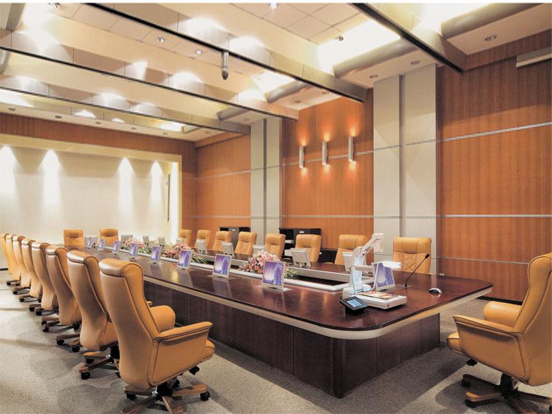 实木会议桌-办公室会议桌-实木办公家具-实木家具