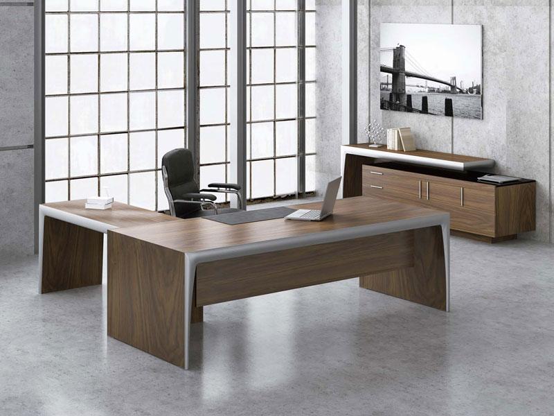 办公桌-实木桌-实木家具-实木班台