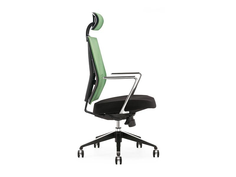 升降网布椅-员工椅-升降旋转椅-旋转员工椅