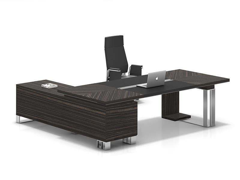 老板桌-实木大班台-大班台定做