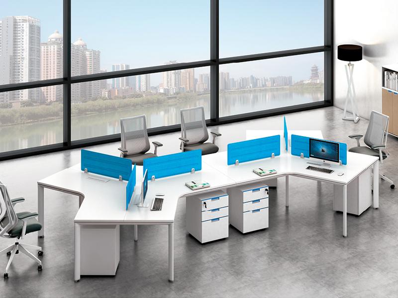 电脑办公桌-屏风办公桌-公司办公桌-定做工作位