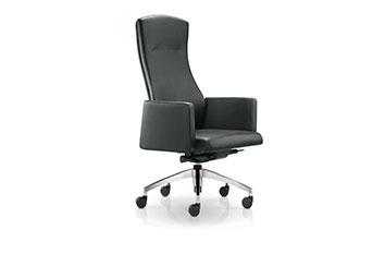 家具老板椅-牛皮大班椅-皮质老板椅