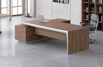 办公桌-实木老板办公桌-办公班台-实木班台