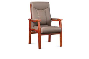 实木会议椅-会议培训椅-办公会议椅-接待椅