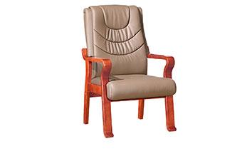 定制接待椅-实木会议椅-班前椅-皮椅