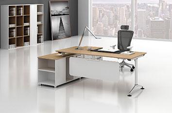 主管桌-电脑桌-办公家具-办公家具厂-定制板式办公家具