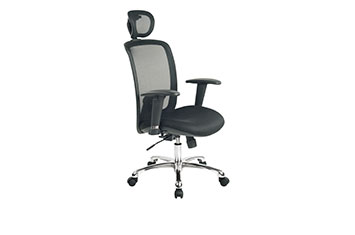 电脑办公椅-升降网椅-旋转文员椅-椅子图片