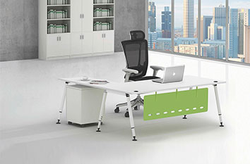 板式老板桌-职员办公桌-定制办公桌
