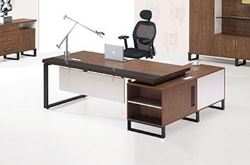 板式桌图片-板式电脑桌-办公室家具
