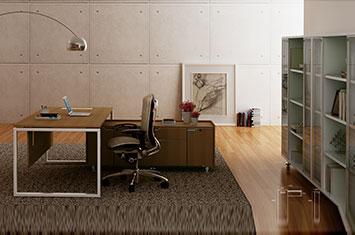 老板办公桌-板式桌-办公桌图片