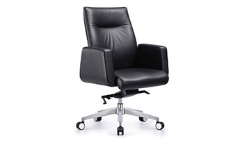 旋转办公老板椅-牛皮大班椅-老板椅