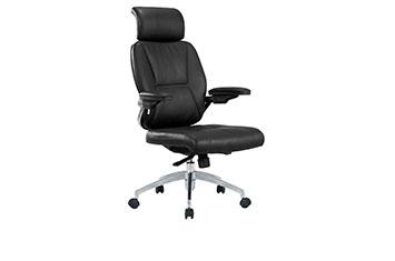 牛皮办公椅-老板旋转椅-大班椅