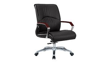 牛皮老板椅-升降老板椅-办公大班椅