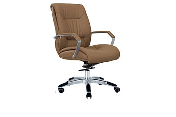 办公椅-牛皮办公转椅-牛皮老板椅-总裁办公椅
