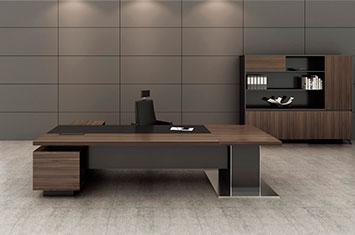 办公大班台定做-大班台家具-实木办公桌