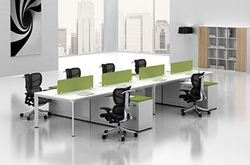 员工办公桌 EY-ZH6018