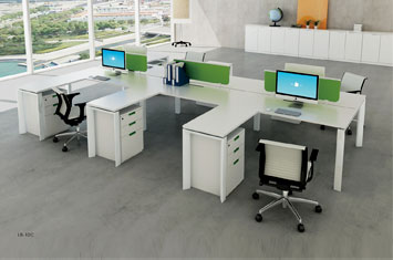 职员办公桌厂-办公桌摆放风水-定制工作位-员工办公桌