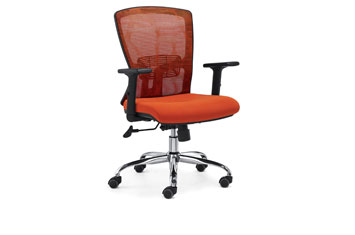 网布办公椅-定做职员椅-旋转办公椅