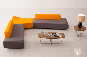 沙发品牌-办公创意沙发摆放-办公沙发设计-沙发品牌