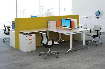 职员办公桌尺寸-屏风办公桌-屏风隔断