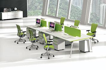 办公屏风隔断-定制隔断屏风-办公桌隔断设计-办公桌设计