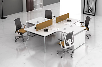 屏风式办公桌-办公桌风水-办公屏风工作位-屏风工作位定制