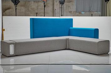 时尚布艺沙发-创意沙发设计-上海办公沙发-沙发图片