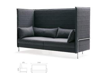 沙发图片-品牌创意沙发直销-布艺沙发品牌-办公家具直销