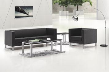 牛皮沙发定制-办公沙发摆放-商务沙发