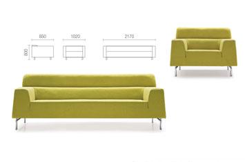 休闲沙发EY-SF8110