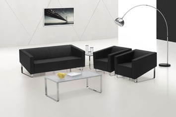 定制牛皮沙发-沙发设计-商务牛皮沙发