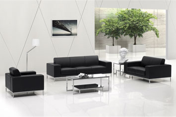 办公沙发-皮沙发-牛皮沙发-定制沙发-双人沙发