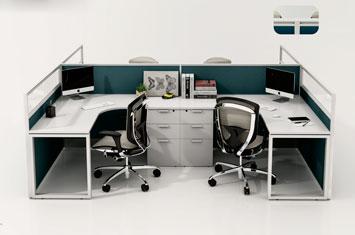 屏风办公桌-办公屏风-屏风隔断-办公室屏风-活动屏风
