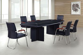 办公会议桌-皮质会议桌-会客桌-商务会议桌