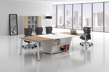 定制板式会议桌-办公会议桌-会议桌样式-会议桌图片