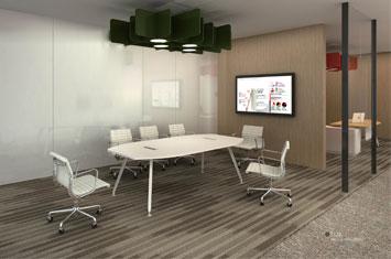 板式会议桌 EY-HYZ006