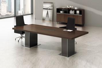 办公会议桌-办公室会议桌-会议桌-实木家具-实木办公家具