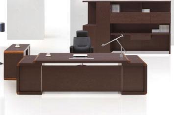 老板办公桌-办公班台-实木大班台