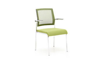 网布会议椅-定做培训椅-办公洽谈椅