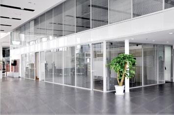 玻璃隔断墙-移动隔断墙-隔断墙设计-办公玻璃隔断墙