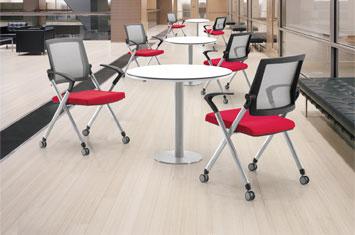 电脑椅-员工椅-椅子尺寸-椅子设计-网布会议椅