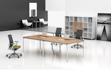 折叠會議桌-板式办公會議桌-办公桌-會議桌厂家