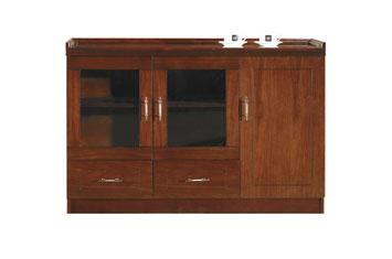 办公室茶水柜-茶水柜-茶水柜摆放-实木茶水柜