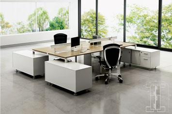 屏风隔断工作位-办公桌价格-定制屏风办公桌-办公桌屏风隔断