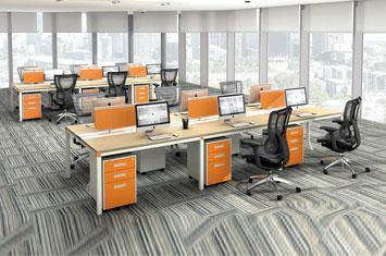 员工办公桌 EY-ZH6034
