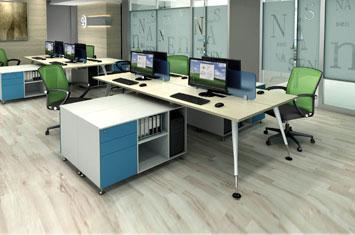 员工办公桌 EY-ZH6036