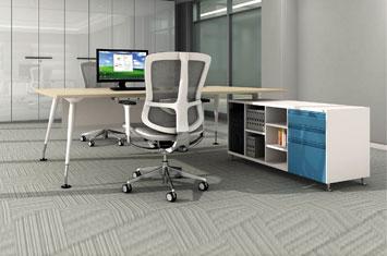 板式办公桌 EY-BS641