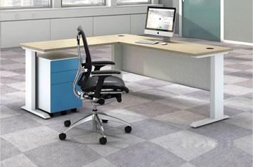 电脑桌图片-办公桌-办公桌尺寸-定制板式电脑桌